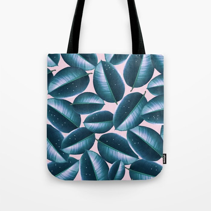 Rubber Plant Cure #society6 #decor #buyart Tote Bag