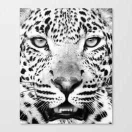 Leopard, Animal, Scandinavian, Minimal, Trendy decor, Interior, Wall art Art Canvas Print