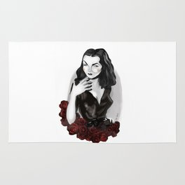 Maila Nurmi (Vampira) Rug