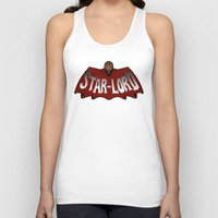 star lord Tank Tops featuring Star Lord logo by Buby87