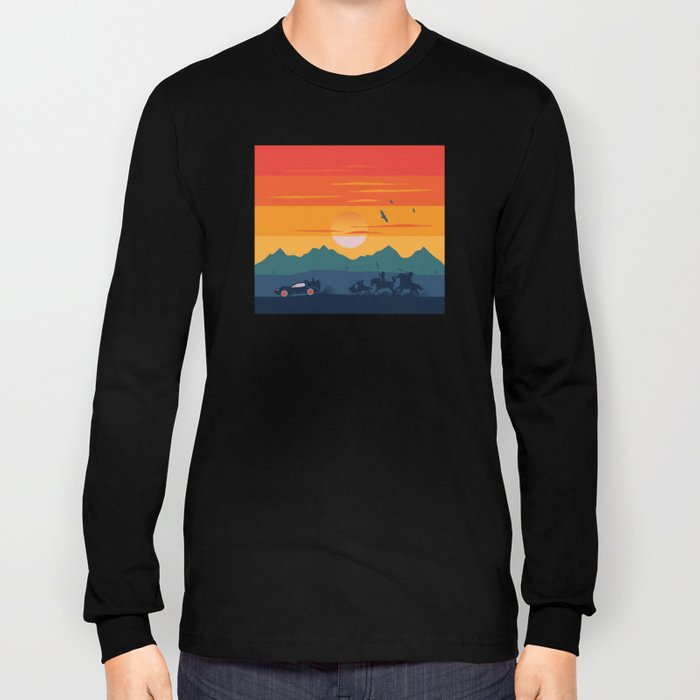 Back to the Wild West Long Sleeve T-shirt