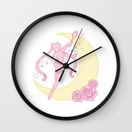 Sailor Moon Silhouette Wall Clock