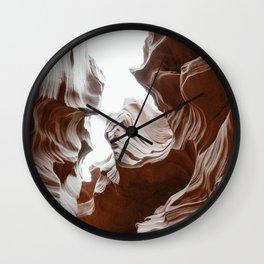 ANTELOPE CANYON XXXV Wall Clock