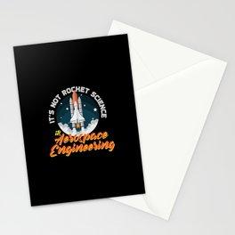 Aerospace Engineer Gift I Rocket Science Stationery Cards