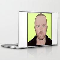 jesse pinkman Laptop & iPad Skins featuring JESSE PINKMAN by Zina Korotkova. by zinakorotkova