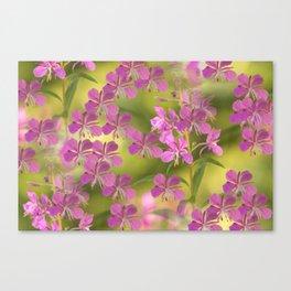 Rosebay Willowherb Flowers #decor #society6 Canvas Print