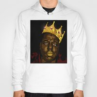 notorious Hoodies featuring Notorious by PeacexLovexAnimate