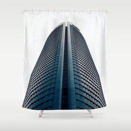 Skyscraper in Madrid Shower Curtain