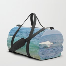 colors of the sea Duffle Bag