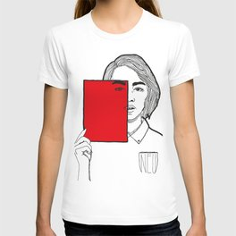 All red. T-shirt