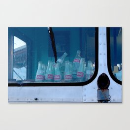 Empty Bottles Empty Dreams Canvas Print