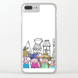 Girls Day Out Clear iPhone Case