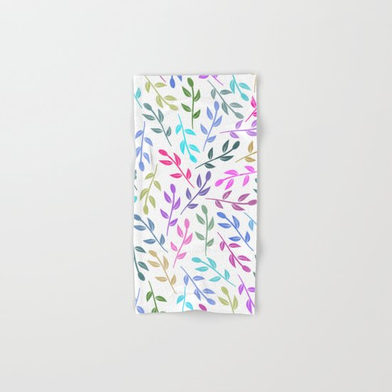 Colorful Leaves IV Hand & Bath Towel