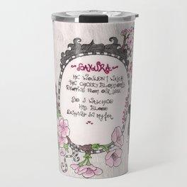 Hanging Sakura - Venus de Vilo Travel Mug