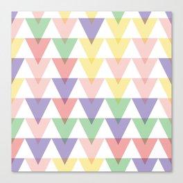 geometric background seamless pattern Canvas Print