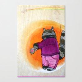 'suicide cat' Canvas Print