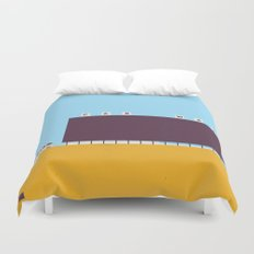 A1A Car Wash Duvet Cover