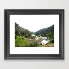 Walhalla the Town Framed Art Print