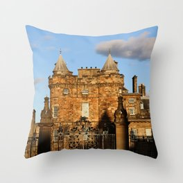 Holyrood Palace Throw Pillow