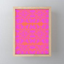 Retro Graphic Framed Mini Art Print