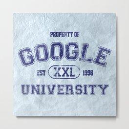 Google University Metal Print