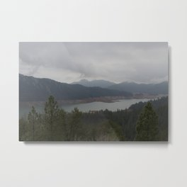 Northern Cali Lake Views Shasta Metal Print