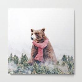 Cold Bear Metal Print