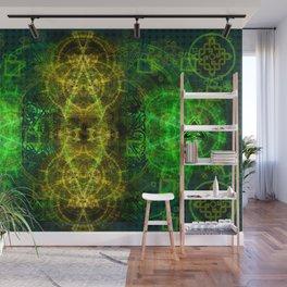 Magical Celtic Clover Wall Mural
