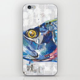 Fish Collage iPhone Skin