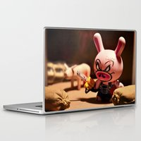bacon Laptop & iPad Skins featuring Bacon by m4Calliope