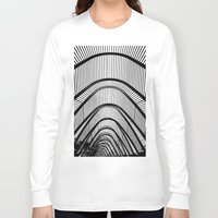 contemporary Long Sleeve T-shirts featuring Contemporary Agora by Alfani Photography