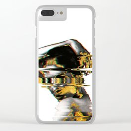 Fazed Out Clear iPhone Case