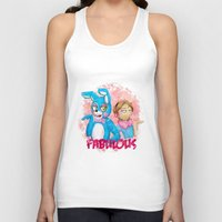 pewdiepie Tank Tops featuring fabulous! by Maria Daregin