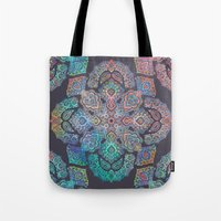 boho Tote Bags featuring Boho Intense by micklyn