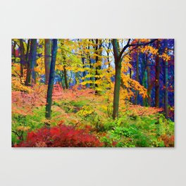 Down in the Hollow Canvas Print