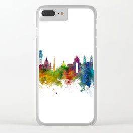 Lisbon Portugal Skyline Clear iPhone Case