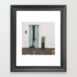 Patina Framed Art Print