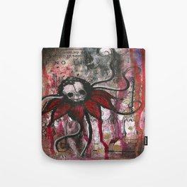 Skullflower Tote Bag