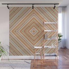 tribal, square meters, geometric pattern Wall Mural