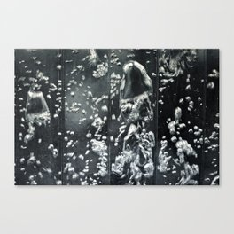 water bubble swirl Canvas Print