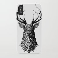 bioworkz iPhone & iPod Cases featuring Ornate Buck by BIOWORKZ
