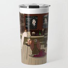 Outlaw Queen - Robin Locksley and Queen Regina Travel Mug