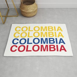 COLOMBIA Flag Rug