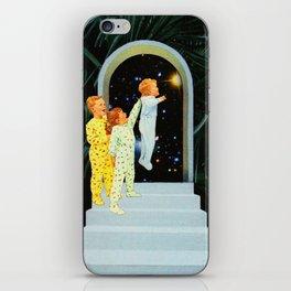 Night in the garden iPhone Skin