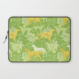 SETTERS ON THE MEADOW Laptop Sleeve