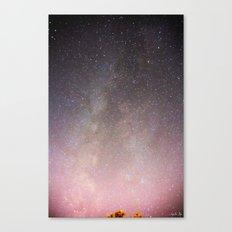 The Milky Way Arm Canvas Print