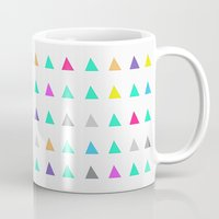 confetti Mugs featuring Confetti by Leah Flores