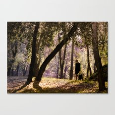 The world is what you feel... Canvas Print