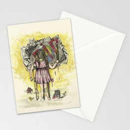 In debt to Earth. Stationery Cards
