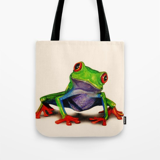 Mr. Ribbit Tote Bag